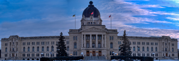 Regina Govertment Building 2 - Cityscape -Red Rover Photography