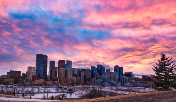 Downtown2 - Cityscape -Red Rover Photography