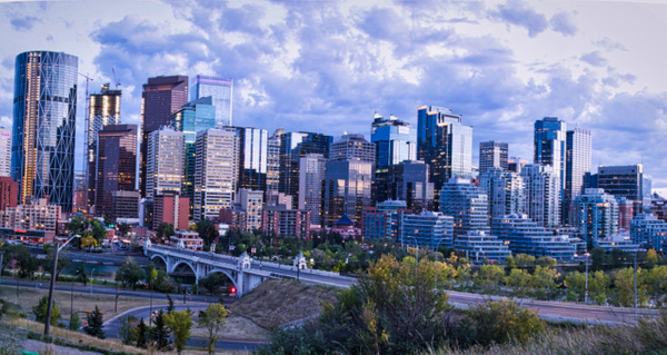 Downtown - Cityscape -Red Rover Photography