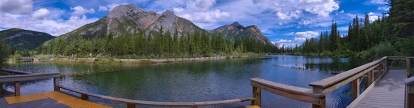 Kananaskis Lorette Pond-Panorama 2 - Landscape 2020 - Red Rover Photography