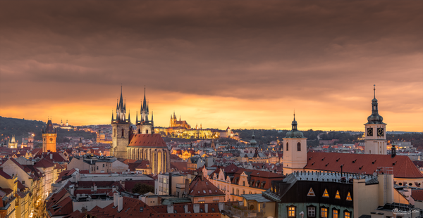 Prague - Roofs Top 001 - N - Home - Patrick Eaton Photography