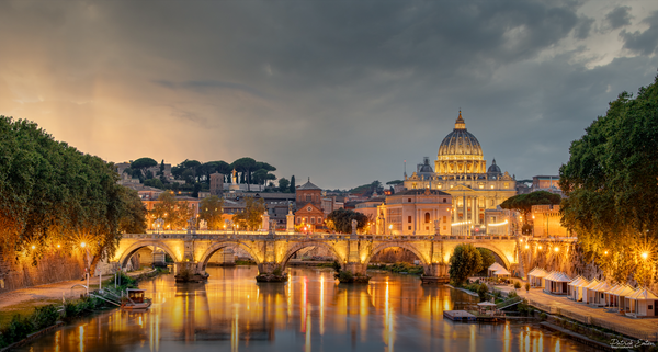Sunset at The Vatican View || Rome, Italy - Home - Patrick Eaton Photography