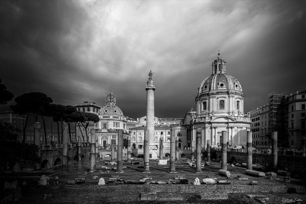 Rome Foro Traiano 001 - Cityscape - Patrick Eaton Photography
