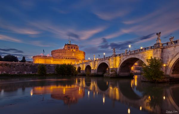 Rome Sant Angelo 001 - Home - Patrick Eaton Photography