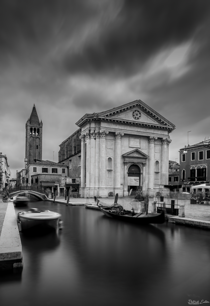 Venise San Barnaba 001 - Black & White - Patrick Eaton Photography