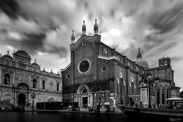 Venise Santi Giovannie e Paolo 001 - Black & White - Patrick Eaton Photography