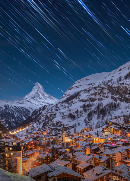 Zermatt Star Trails - Home - Patrick Eaton Photography