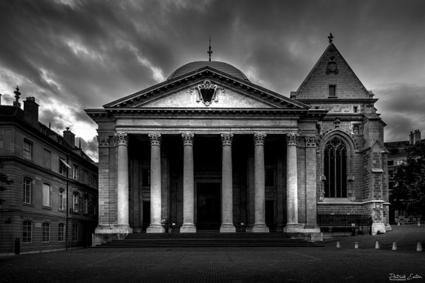 Geneve - Cathedrale - Place Saint Pierre - 001 - Cityscape - Patrick Eaton Photography