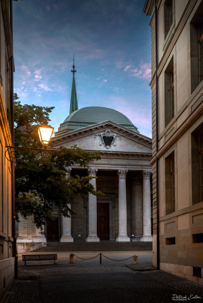 Geneve - Cathedrale 002-A - Cityscape - Patrick Eaton Photography