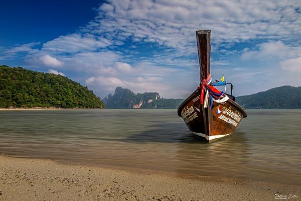Thailand - Koh Phi Phi - Boat 001 - Landscape - Patrick Eaton Photography