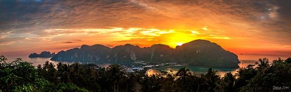 Thailand - Koh Phi Phi - Panorama - Landscape - Patrick Eaton Photography