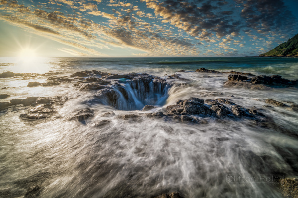 Thor's Well - Home - Clifton Haley Photography