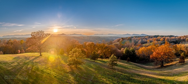 Biltmore Estate - South Lawn Sunset by...