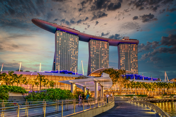 Singapore by Clifton Haley