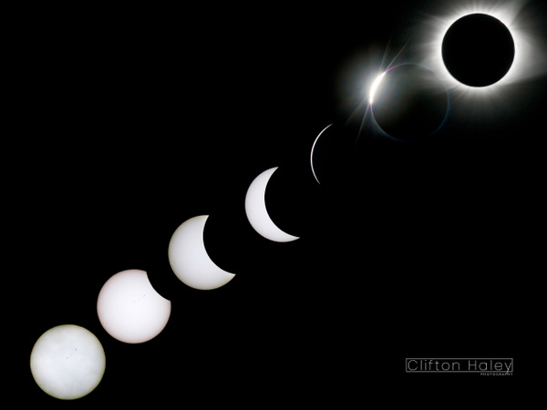 Solar Eclipse by Clifton Haley