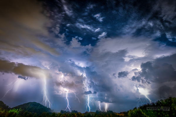 Starry Storm - Home - Clifton Haley Photography