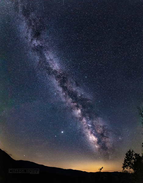 Milky Way by CliftonHaleyPhotography