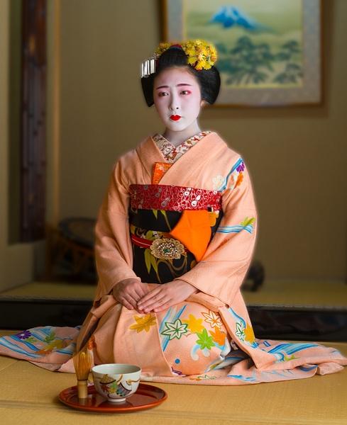 geisha - Japan in Autumn - Kirit Vora Photography