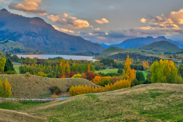 Beautiful Clouds - New Zealand - Kirit Vora Photography