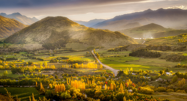 Arrowtown morning - New Zealand - Kirit Vora Photography