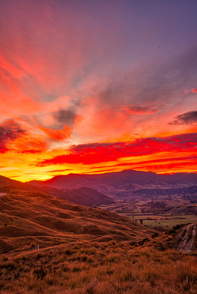 Glorious sunrise - New Zealand - Kirit Vora Photography
