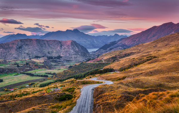 Long winding road - New Zealand - Kirit Vora Photography