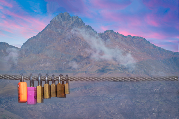 Love Locks - New Zealand - Kirit Vora Photography