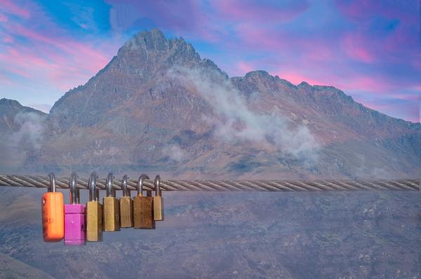 Love Locks - New Zealand - Kirit Vora Photography