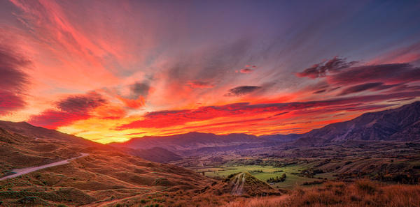 Sunset New Zealand - New Zealand - Kirit Vora Photography