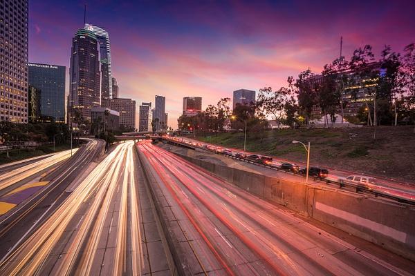 LA Freeways - Los Angeles - Kirit Vora Photography