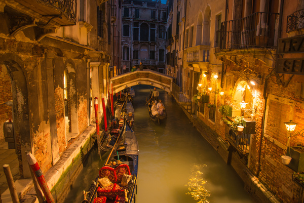 Goodnigh Gondola Venice - Venice - Kirit Vora Photography
