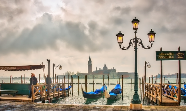 Venice dusk - Venice - Kirit Vora Photography