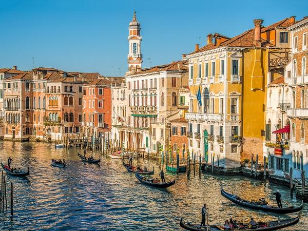 Old Venice canal - Venice - Kirit Vora Photography