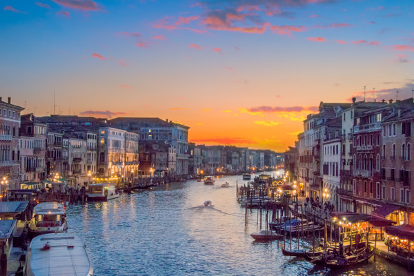 Venice sunset - Venice - Kirit Vora Photography