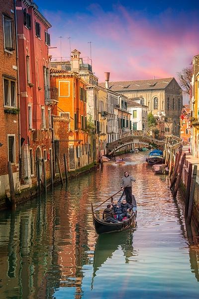 Venice Canal - Venice - Kirit Vora Photography