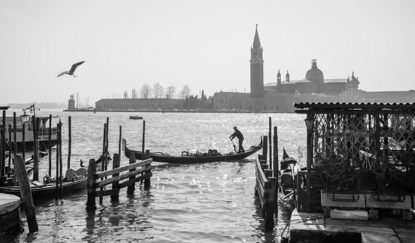 Venice in Black and white - Venice - Kirit Vora Photography