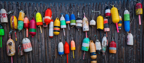 Buoy in colors - Maine Acadia Park - Kirit Vora Photography