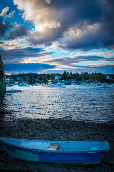 evening sky - Maine Acadia Park - Kirit Vora Photography