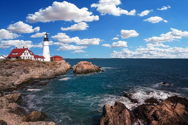 Lighthouse - Maine Acadia Park - Kirit Vora Photography