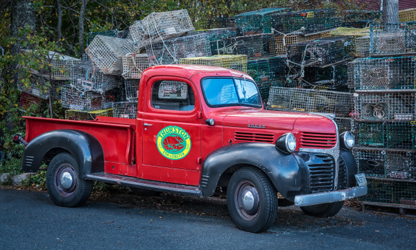 Old Truck - Maine Acadia Park - Kirit Vora Photography
