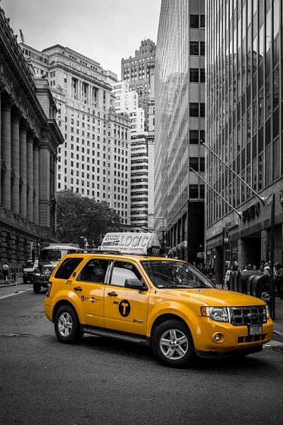 NewYork-Cab-ColorKey1 by ReiterPhotography
