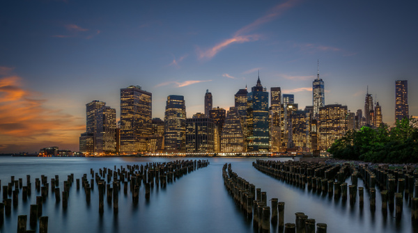 NewYork-Downtown-Sunset2 by ReiterPhotography