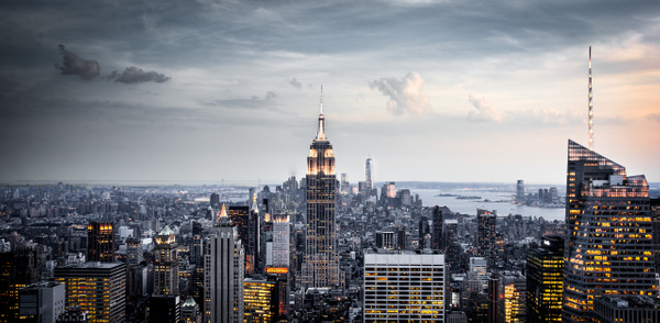 NewYork-TopOfTheRock-Downtown-View2 by ReiterPhotography