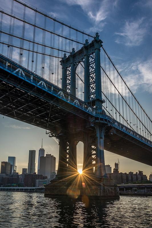 NewYork-ManhattanBridge-Sunset