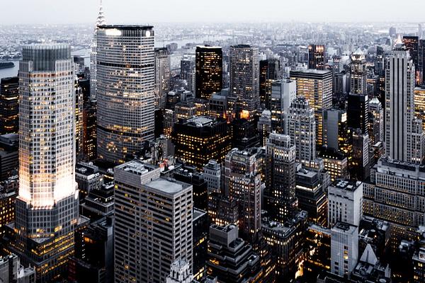 NewYork-TopOfTheRock-View by ReiterPhotography