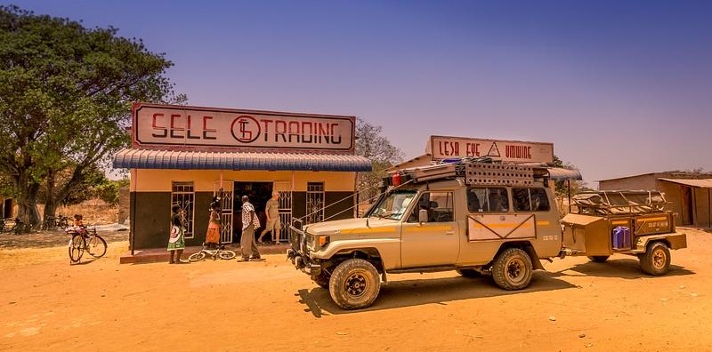 Zambia-Village-Store
