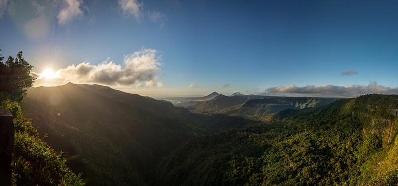 Mauritius-Black-River-Gorges-Sunset