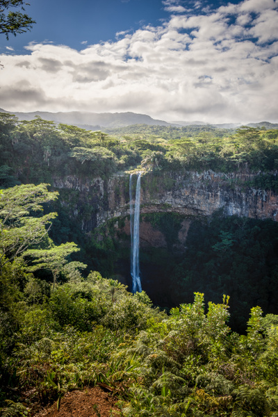 Mauritius-Waterfall-Colored-Earth by ReiterPhotography