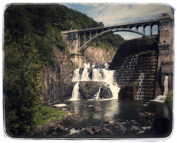 Croton waterfall - Upstate New York - Joanne Seador Photography