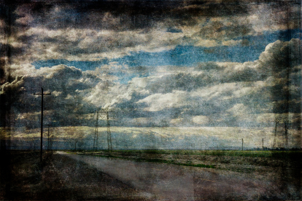 Empty Road, CA, Version 1 - California - Joanne Seador Photography